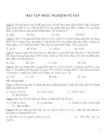 Bài tập trắc nghiệm môn hóa học (20)
