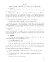 Chương I NHỮNG VẤN ĐỀ CHUNG VỀ VĂN BẢN QUẢN LÝ NHÀ NƯỚC