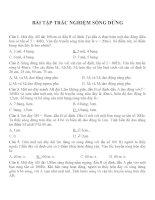 Bài tập trắc nghiệm môn vật lý lớp 12 (30)