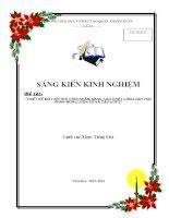 SKKN thiet ke mot tro choi nham nang cao chat luong day hoc phan mon luyen tu va cau lop 2