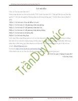 420 câu  trắc nghiệm hình Oxyz(TDT)
