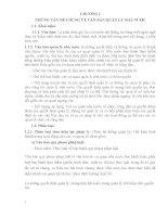 BÀI GIẢNG SOẠN THẢO VĂN BẢN - CHƯƠNG I NHỮNG VẤN ĐỀ CHUNG VỀ VĂN BẢN QUẢN LÝ NHÀ NƯỚC
