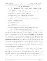 BÁO CÁO THỰC TẬP TẠI CÔNG TY CỔ PHẦN BIA SÀI GÒN – MIỀN TRUNG