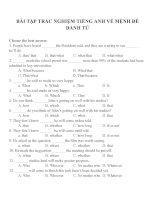 Bài tập trắc nghiệm môn tiếng anh 12 (11)