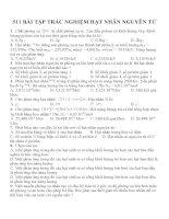Bài tập trắc nghiệm môn vật lý lớp 12 (140)