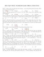 Bài tập trắc nghiệm môn vật lý lớp 12 (150)