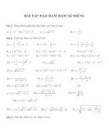 Bài tập đạo hàm môn toán (1)