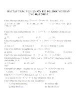 Bài tập trắc nghiệm môn vật lý lớp 12 (10)