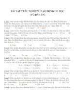 Bài tập trắc nghiệm môn vật lý lớp 12 (24)