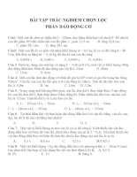 Bài tập trắc nghiệm môn vật lý lớp 12 (153)