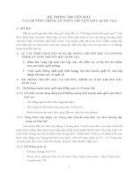 HỆ THỐNG TRUYỀN MÁU VÀ CHƯƠNG TRÌNH AN TOÀN TRUYỀN MÁU QUỐC GIA