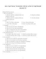 Bài tập trắc nghiệm môn tiếng anh 12 (65)