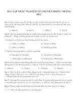 Bài tập trắc nghiệm môn vật lý lớp 12 (64)