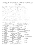 Bài tập trắc nghiệm môn tiếng anh 12 (14)