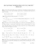 Bài tập trắc nghiệm môn vật lý lớp 12 (73)
