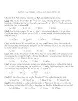 Bài tập trắc nghiệm môn vật lý lớp 12 (37)