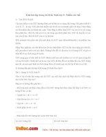 Giải bài tập trang 26 SGK Sinh lớp 9: Nhiễm sắc thể