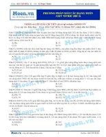 Phương pháp giải các dạng toán axit hno3