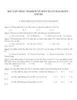 Bài tập trắc nghiệm môn hóa học (59)