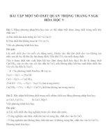 Bài tập môn hóa học lớp 9 (5)