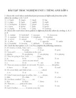 Bài tập môn tiếng anh lớp 6 (38)