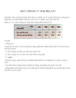 Bài tập SGK môn địa lý lớp 9 (3)