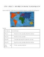 Bài tập SGK môn địa lý lớp 8 (31)