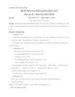 Tài liệu bồi dưỡng môn ngữ văn lớp 9 tham khảo (24)