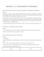 Bài tập SGK môn sinh học lớp 6 (13)