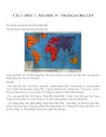 Bài tập SGK môn địa lý lớp 8 (61)