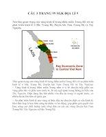 Bài tập SGK môn địa lý lớp 9 (6)