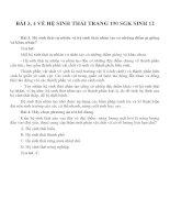 Bài tập SGK môn sinh học lớp 12 (35)