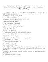 Bài tập môn hóa học lớp 9 (6)
