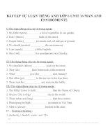 Bài tập môn tiếng anh lớp 6 (64)