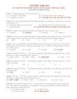 Tuyển  tập 101 câu hỏi thi tuyển công chức và thi giáo viên giỏ , có đáp án