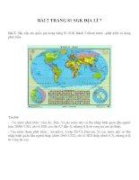 Bài tâp SGK môn địa lý lớp 7 (62)