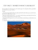 Bài tập SGK môn địa lý lớp 8 (55)