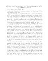 ĐIỂM TƯƠNG ĐỒNG và KHÁC BIỆT của PHẬT GIÁO VIỆT NAM QUA bài kệ THỊ đệ tử của vạn HẠNH THIỀN sư (autosaved)