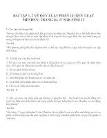 Bài tập SGK môn sinh học lớp 12 (42)