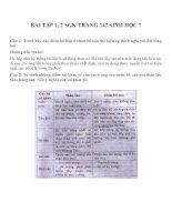 bài tập SGK sinh học lớp 7 (16)