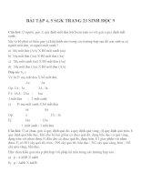 Lý thuyết và bài tập môn sinh học lớp 9 (10)