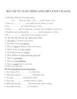 Bài tập môn tiếng anh lớp 6 (20)