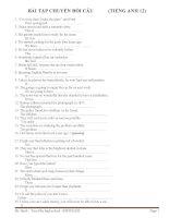 Tài liệu ôn thi tiếng anh lớp 12 tham khảo (3)