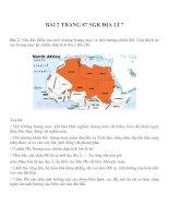 Bài tâp SGK môn địa lý lớp 7 (35)
