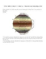 Bài tập SGK môn địa lý lớp 8 (89)