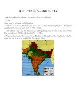 Bài tập SGK môn địa lý lớp 8 (66)