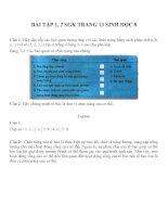 Bài tập SGK môn sinh học lớp 8 (28)