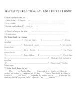 Bài tập môn tiếng anh lớp 6 (35)
