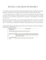 Lý thuyết và bài tập môn sinh học lớp 9 (63)