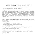 bài tập SGK sinh học lớp 7 (4)